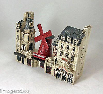 NEW-J-CARLTON-BY-GAULT-FRENCH-MINIATURE-PARIS-BUILDING-SET-3-MOULIN-ROUGE-FACADE