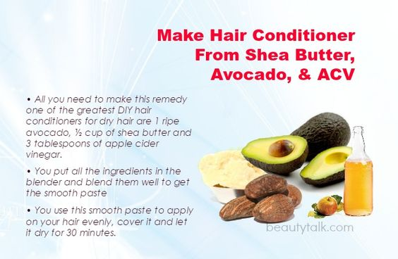 Top 15 DIY Natural Hair Conditioners For Dry Hair At Home