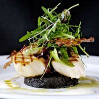 Seared Scallop and Black Pudding Salad with Crispy Pancetta - Irresistible and Delicious