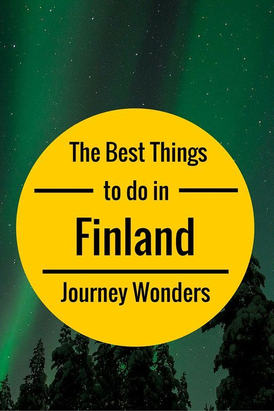 The best things to do in #Finland in the #Winter #Europe #Travel