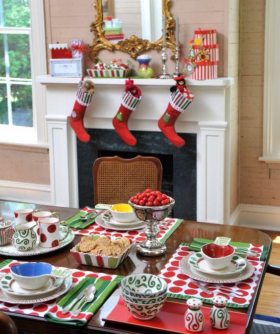 HO! HO! HO! - M. Bagwell Simply Christmas Tablescape