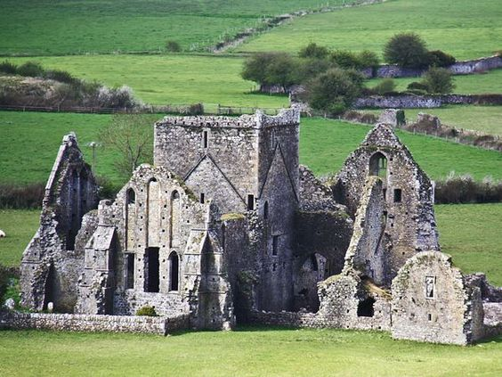 Castle  Photograph by Timo Mosler  An old castle located in the west of Ireland, near the Rock of Cashel
