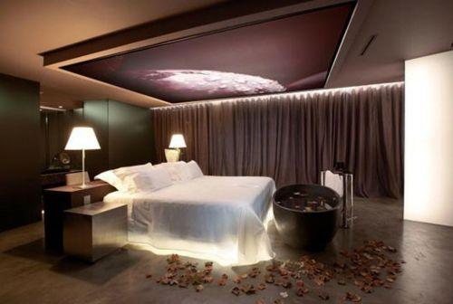 Frische Ideen für Schlafzimmer Beleuchtung lassen den Raum glänzen ...