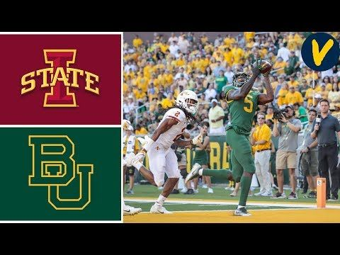 Iowa State Vs Baylor Week 5 College Football Highlights 2019 Youtube Football Highlight Iowa State College Football