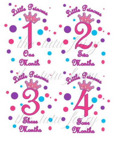 18 Month Stickers: Pink Blue, Monthly Baby And Baby Girls On Pinterest
