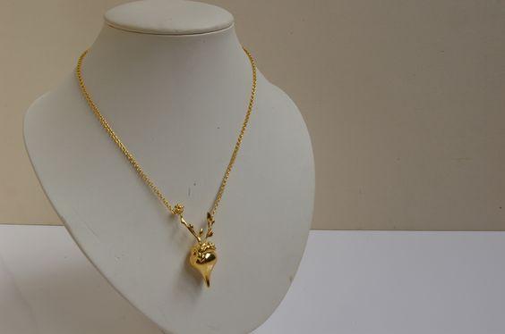 Collier, pendentif fleuri Boite à Parfum : Collier par bleuse-paris