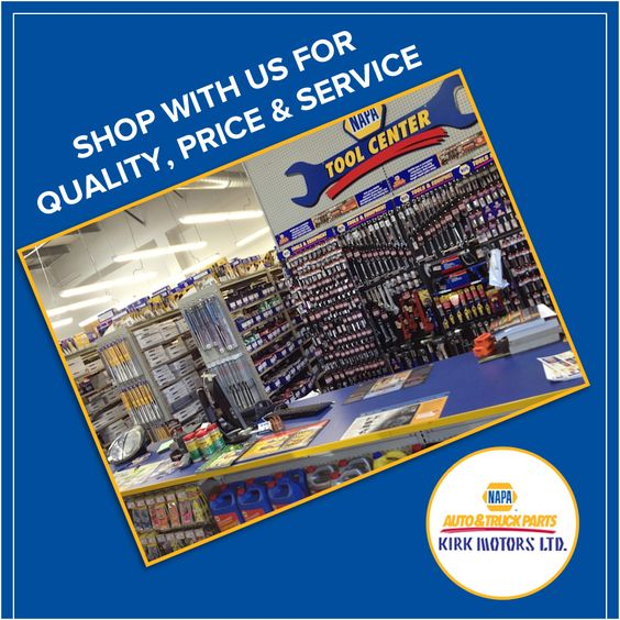 Shop with us for quality, price & service.