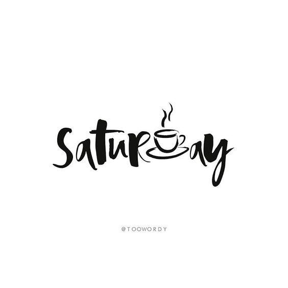 """Too Wordy on Instagram: """"☕️ // #toowordy #toowordytype #saturday #weekend…"""