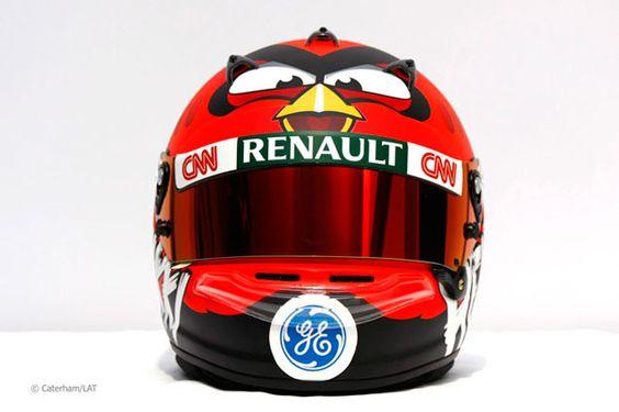 'Angry Birds' Formula 1 edition: Heikki Kovalainen will wear red bird helmet in 2012