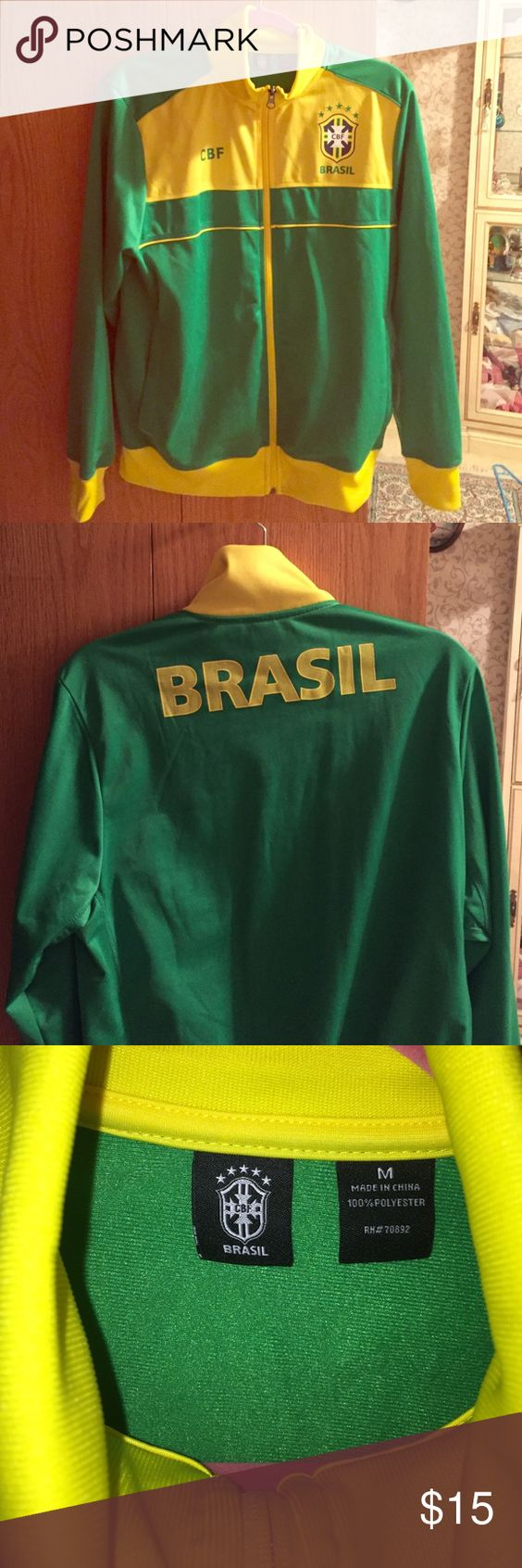 CBF Brasil Jacket Worn once, in perfect condition Jackets & Coats Lightweight & Shirt Jackets