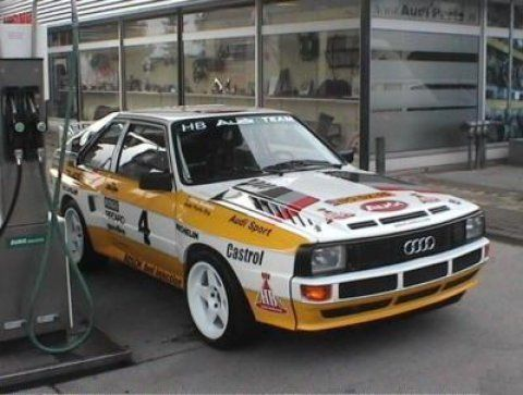1980 Audi Sport Quattro 4.2 V8 Tribute
