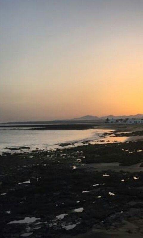Playa Honda,Lanzarote.ISLAS CANARIAS.