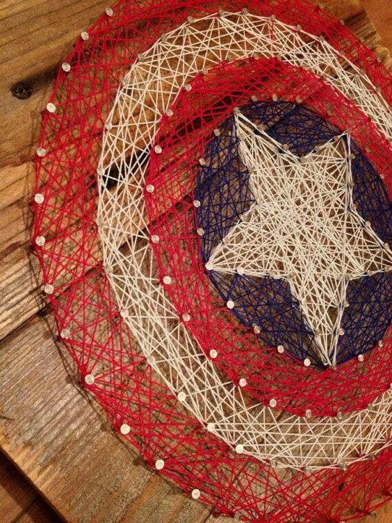 28 diy thread and nails string art projects that will beautifully 28 diy thread and nails string art projects that will beautifully reshape your interior decor prinsesfo Gallery