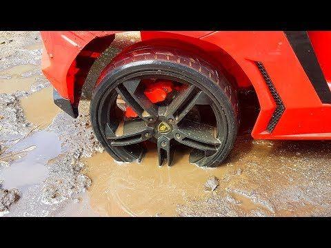 دورية المخلبإلى الإنقاذ سيارة حمراء عالقة في الوحل Youtube Car Body Inspiration Car Wheel