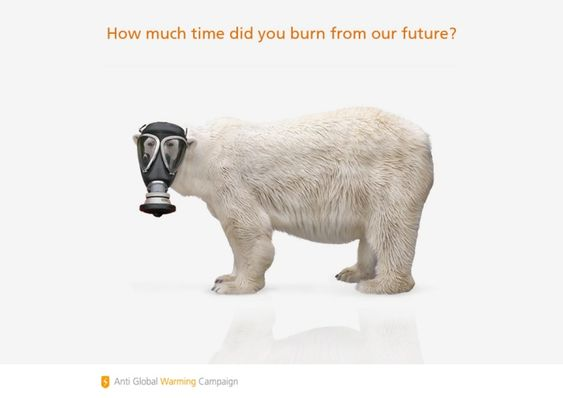 Interesting Anti Global Warming Campaign by UNESCO