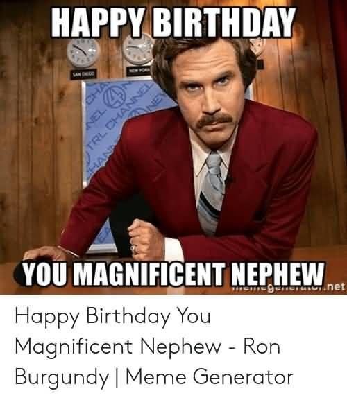 21 Amusing Happy Birthday Nephew Meme Images Happy Birthday Chuck Nephew Birthday Happy Birthday Nephew