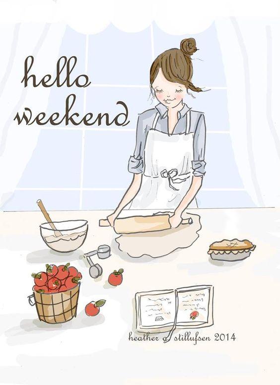Hello Weekend Heather Stillufsen Rose Hill Designs On