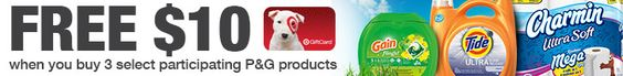 Gratis cupón electrónico de $10 de descuento en @Target - Súper Baratísimo o Gratis