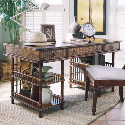 Lexington 39 s tommy bahama home writing desk listed at british colonial west indies Bahama home decor for sale