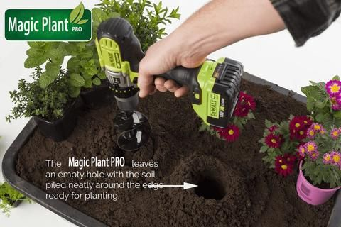 Magic Plant Pro Planting Bulbs Plants Planters