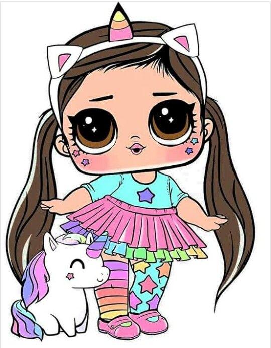 Unicornia Lol Desenhos Para Colorir Menino Boneca Lol Surpresa
