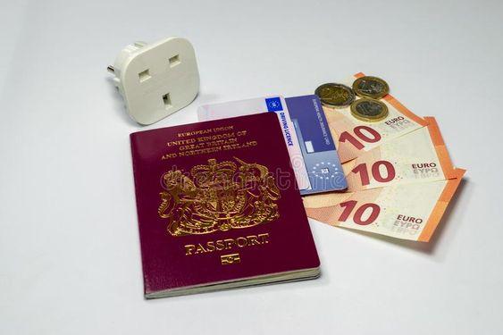 United Kingdom biometric passport and euro currency. UK passport european insura , #Sponsored, #euro, #currency, #UK, #passport, #United #ad