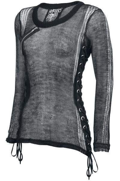 translucent knitted Girl-Longsleeve ♥