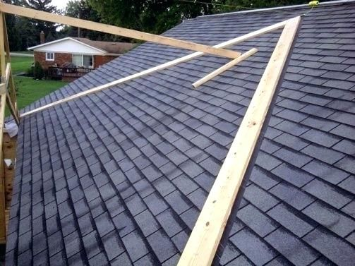 Adding A Gable Roof To An Existing Roof Tying A Porch Roof