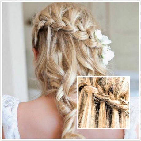 Wedding hair for long hair