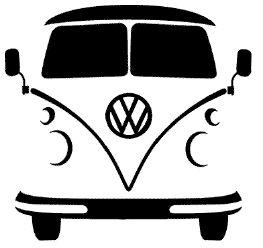 VW silhouet