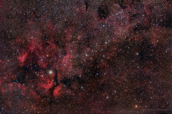 Mohammad Nouroozi Gamma Cygnus-The Sadr Region! No calibration frames.only 6 frames each frame 5 min exposure for total 30 min exposure! some cirrus clouds covered the sky for all the night! scope:200mm f2.8 at f4 camera:modified canon 5D MarkII mount:EQ6 with autoguider exposure:6*5min for total 30min iso set at 1600