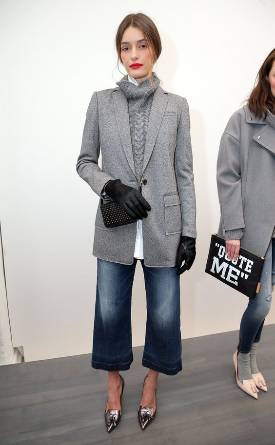 Pin for Later: 40 Autumn Runway Looks We'd Really Wear Banana Republic Autumn 2015