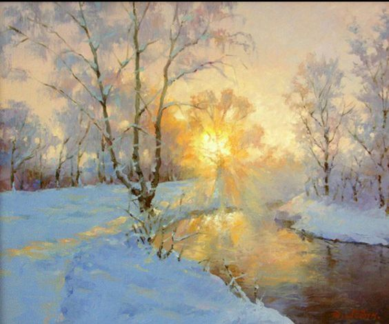 Dmitry Levin - Winter's river