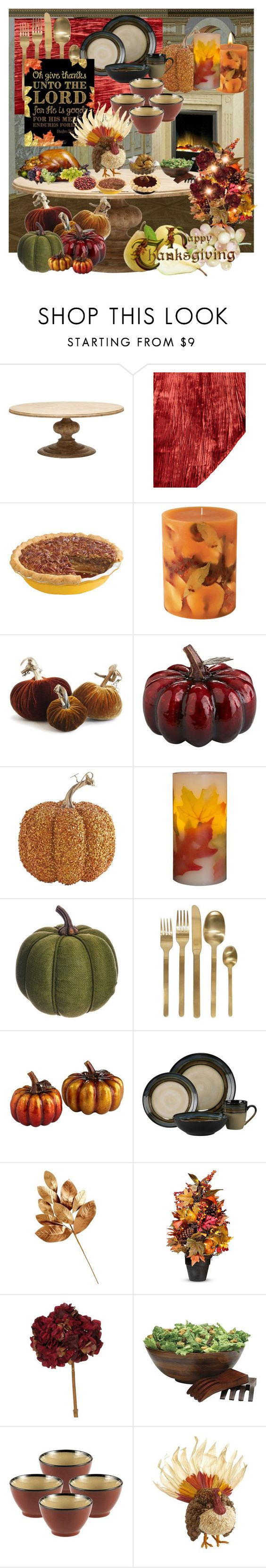 """""""Have a Happy and Blessed Thanksgiving Everyone!"""" by stephaniedsmigo ❤ liked on Polyvore featuring interior, interiors, interior design, home, home decor, interior decorating, Divine Designs, Rosy Rings, Dot & Bo and Allstate Floral"""