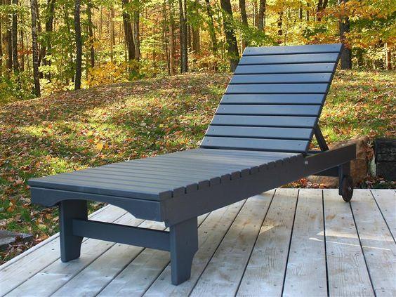 Шезлонг & спортивные сиденья с плоскими концами