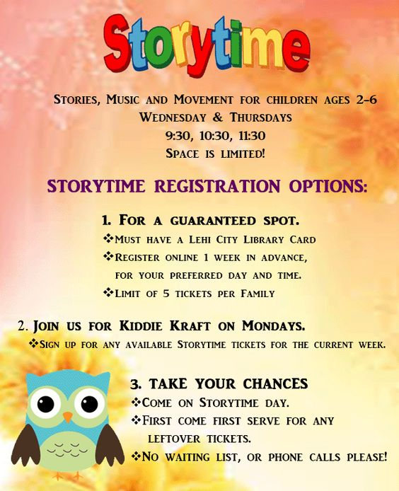 Lehi Library Storytime is the BEST!!