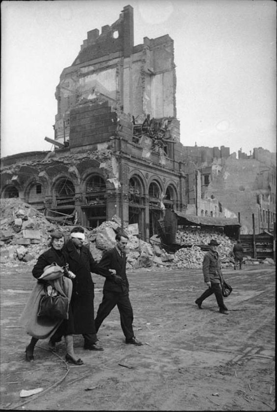 World War 2 Germany Berlin 1945
