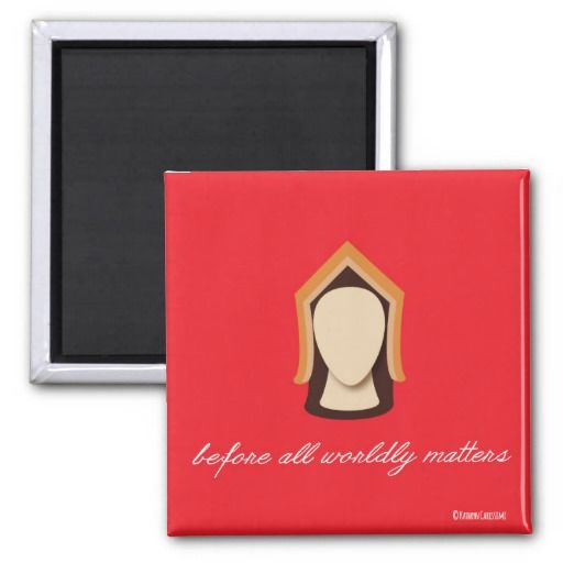 "Katherine of Aragon ""Before All Worldly Matters"" Magnet"
