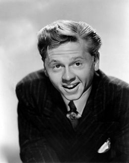 Mickey Rooney (born Joseph Yule, Jr.; September 23, 1920 – April 6, 2014) was an American film actor and entertainer whose film, television, and stage appearances spanned nearly his entire lifetime.  He received multiple awards, including a Juvenile Academy Award, an Honorary Academy Award, two Golden Globes and an Emmy Award. Working as a performer since he was a child, he was a superstar as a teenager for the films in which he played Andy Hardy,...