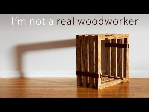 An Impractical Side Table Woodworking Youtube Grizzly Challenged Kyle Toth Will Walker And Me To Build Side Table Woodworking Woodworking Side Table