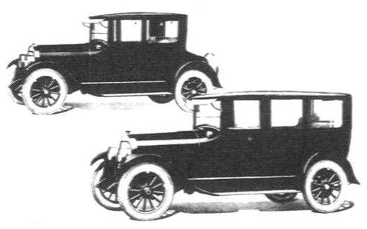 1923 Flint Coupe And Sedan The Flint Motor Co Flint Mi 1922