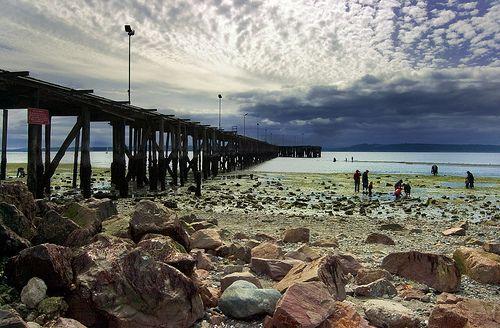 Edmonds, WA beach