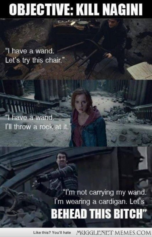 Objective: Kill Nagini | Harry Potter | Pinterest