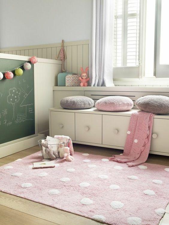 einrichtungsideen kinderzimmer angenehme helle frische farbkombination: