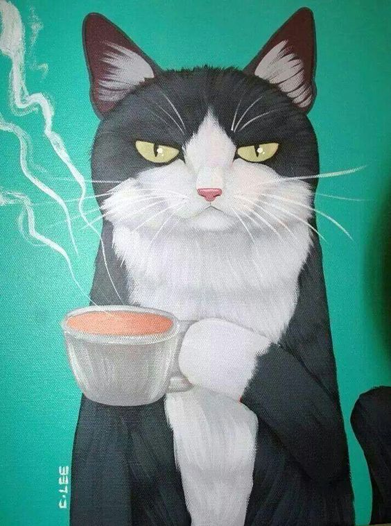 tuxie cat with java