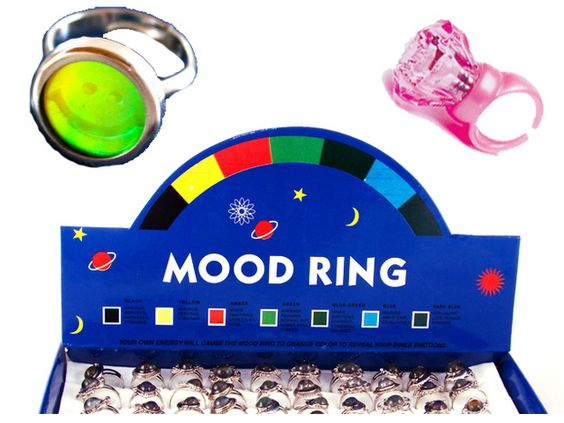 90's Party Favors - Which ring did you get?
