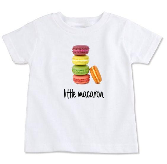 Organic French Little Macaron Toddler Tshirt choose by SpunkyStork, $27.00