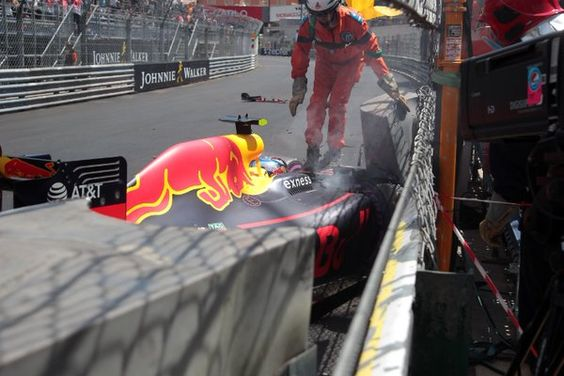 .@Max33Verstappen insists he was not on the limit before #MonacoGP qualifying crash