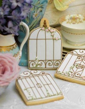 birdcage sugar cookies