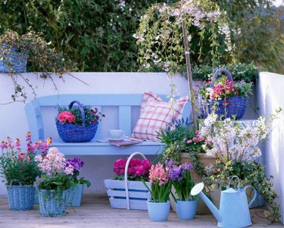 gartengestaltung idee f r kleine gartenecke 30. Black Bedroom Furniture Sets. Home Design Ideas